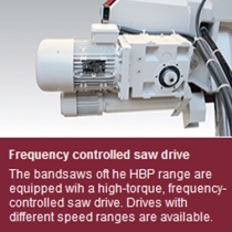 BEHRINGER HBP SEMI-AUTOMATIC STRAIGHT-CUTTING BANDSAW thumbnail