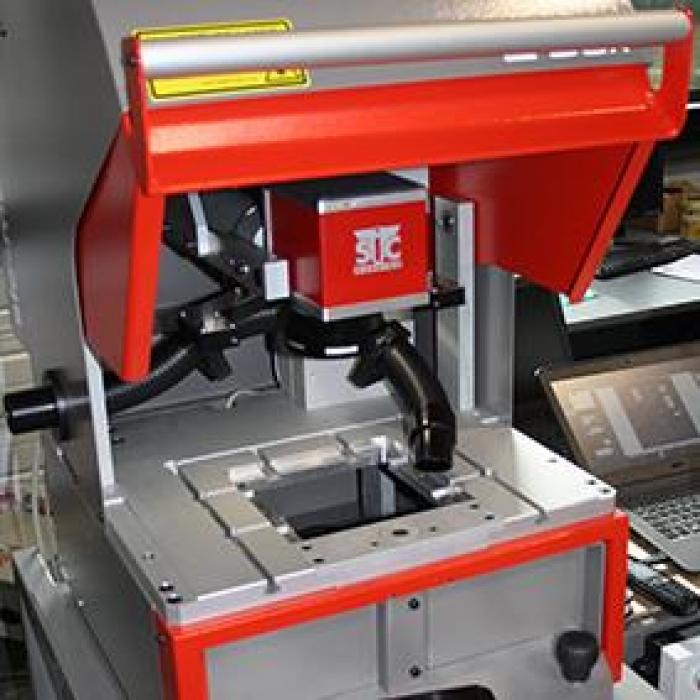 SIC Marking L-Box Laser System